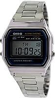 Casio A158WA-1CR Reloj Digital, Cuadrado