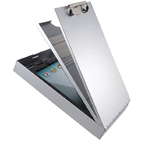 Saunders Recycled Aluminum Cruiser Mate II Storage Clipboard With Dual Tray  Storage, Legal Size