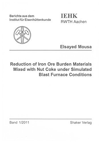 Classic Mixed Nuts - Reduction of Iron Ore Burden Materials Mixed with Nut Coke Under Simulated Blast Furnace Conditions (Berichte aus dem Institut fur Eisenhuttenkunde) by Elsayed Mousa (2011-01-14)