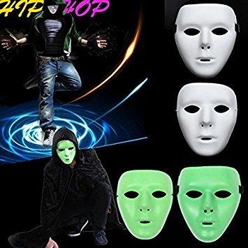 Bazaar Jabbawockeez Mask Halloween Ghost Dance Hip-hop Performances Masks Party Dress Mask
