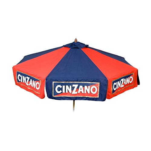 Heininger 9 foot Wood Cinzano Vinyl Umbrella – Market Style Review