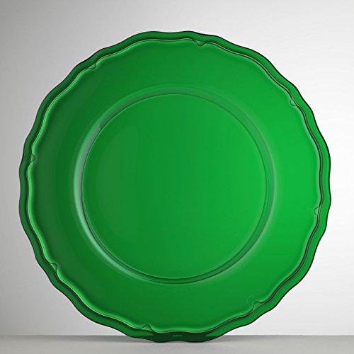 Mario Luca Giusti Set 6 Giotto Plate Green by Mario Luca Giusti (Image #4)