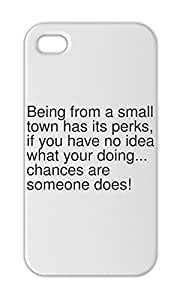 Being from a small town has its perks, if you have no idea Iphone 5-5s plastic case
