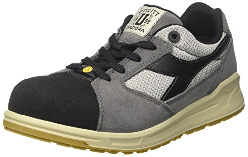 D Travail Esd Adulte nero De Low grigio Mixte Text Chaussures Diadora Jump Acciaio Gris S1p Antracite Pro dYHqzZP