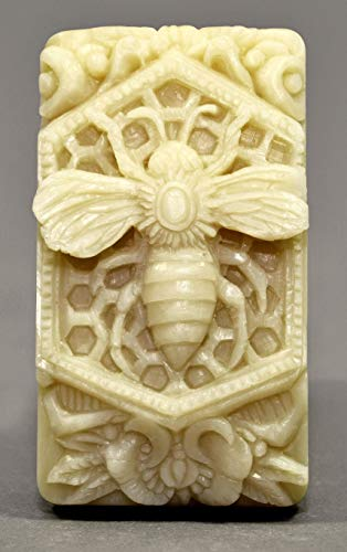 (Honey BEE Silicone Mold SOAP Plaster Wax Resin Clay)