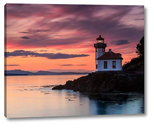 Orange Sunset at Lime Kiln Lighthouse by Shawn/Corinne Severn - 18