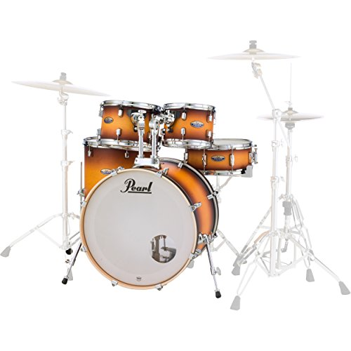 Pearl DMP905P/C225 Decade Maple 5-pc. Shell Pack, Classic Satin Amburst (Sst Satin)