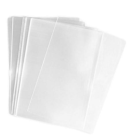 100 bolsas de embalaje transparentes de polipropileno ...