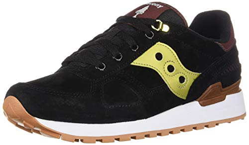 Shadow Pelle E In Sneaker Oro Nero Giallo Saucony Suede S1qPTwnH