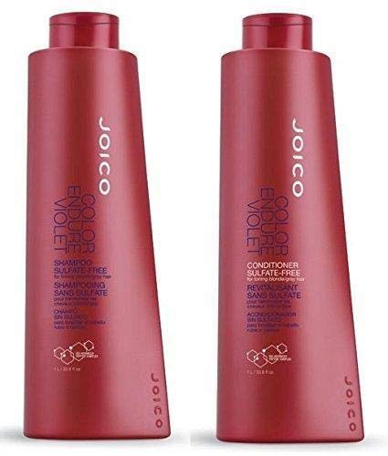 Joico Color Endure Violet- Sulfate Free Shampoo and Conditioner DUO 33.8 Oz. by Joico