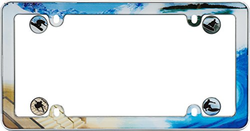 license plate frame skateboard - 3