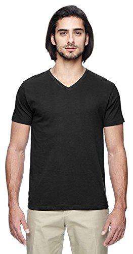- econscious Men's 4.4 oz. 100% Organic Cotton Short-Sleeve V-Neck T-Shirt