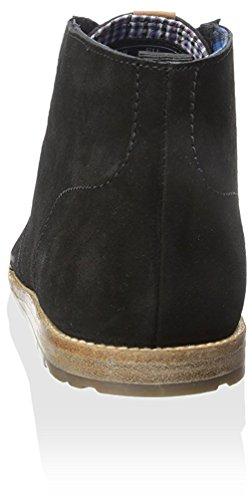 Ben Sherman Mens Aberdeen Chukka Boots Kolsvart