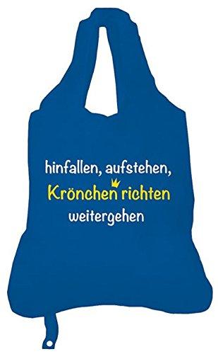 Rannenberg Krönchen richten Einkaufs-Beutel Tasche Shopper Polyester Bag Groß Tragetasche