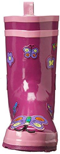 Kidorable d'origine Branded caoutchouc / bottes de pluie Papillon pour les filles