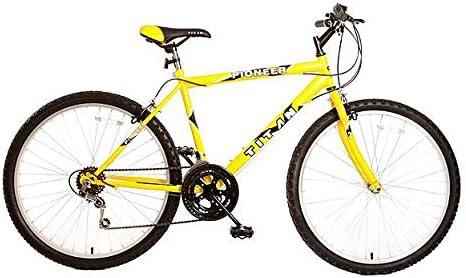 Yellow Mountain Titan 102-8118 Pioneer Bicicleta Todoterreno para ...