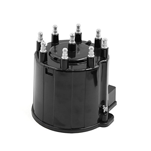 uxcell 19166099 D303A Automobile Car Ignition System Distributor Cap for Chevrolet C1500 C2500 C3500 G10 G20 G30