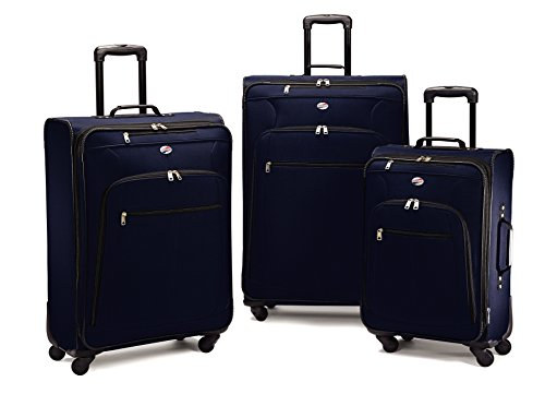 American Tourister 64590 AT Pop Plus Suitcase, 3 Piece Set (One Size,...