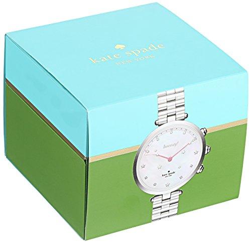 7138b2c005f Kate Spade New York Women s  Holland Slim Hybrid  Quartz Stainless Steel  Casual Watch