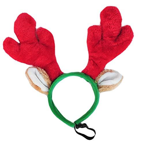 - ZippyPaws - Antlers Dog Accessory, Holiday Headband (Large)