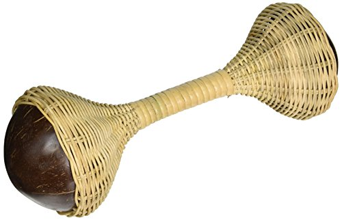 Rattan Double Shaker (X8 Drums & Percussion X8-RATTANSHAK Woven Double-Ended Rattan Shaker)