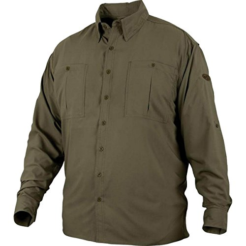 Drake Flyweight Shirt With Vented Back DS7001 Long Sleeve Olive ()
