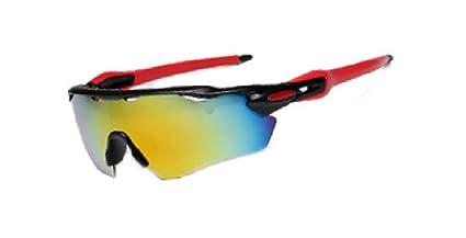 Flydo Gafas Ciclismo Polarizadas Gafas de Sol Deportivas para Deporte y Aire Libre Ciclismo Gafas Conducción