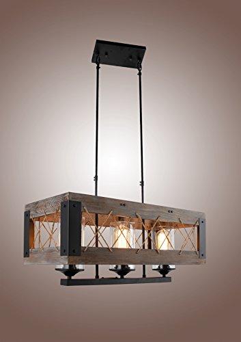 Rectangle Pendant Light Fixtures in Florida - 4