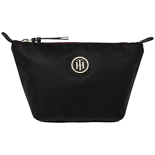 Tommy Hilfiger Poppy Make-Up Bag - Black (Man-Made) Accessories Bags One Size