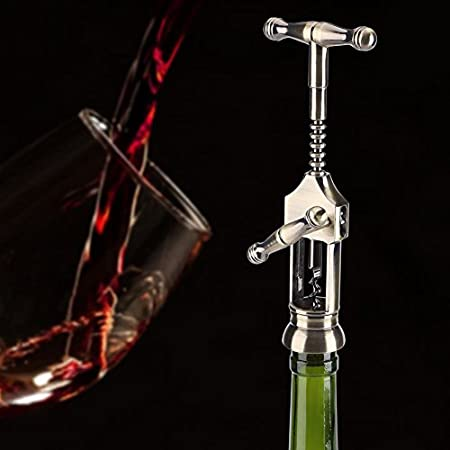 Abrebotella de Vino Tinto,Asixx,Abrebotella Clásica de Acero Inoxidable,Para Fiestas,Bares,Bodas Y El Hogar