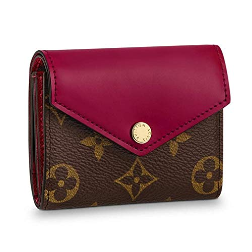 - Louis Vuitton Monogram Canvas Zoe Mini Wallets Fuchsia Article: M62932 Made in France
