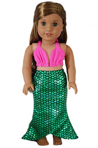 My Brittany's Tropical Mermaid Swimsuit for Amercan Girl