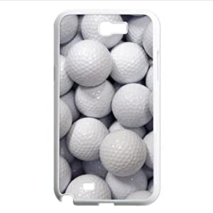 Diy cool golf ball pattern phoneCase for Samsung Galaxy note2 N7100 PC case cover for iphone for women glassover...
