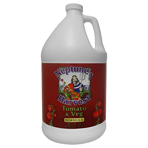Neptune's Harvest TV191 Tomato & Veg Formula 2-4-2 Fertilizer, 1 gallon