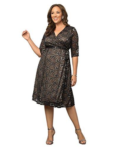 Kiyonna-Womens-Plus-Size-Glittering-Affair-Wrap-Dress