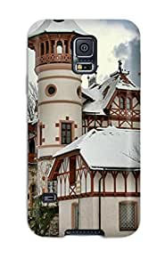 Defender Case With Nice Appearance (house) For Galaxy S5