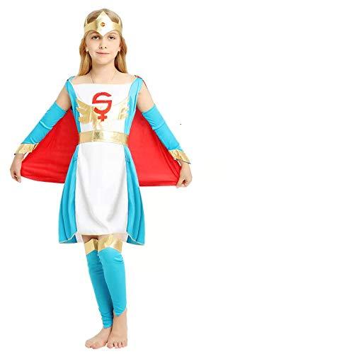 Disfraz de Supergirl Superwoman Reina para niños Cosplay, Carnaval ...