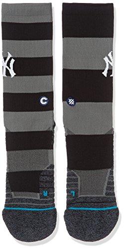 - Stance Men's Yankees Nightshade Socks Black L
