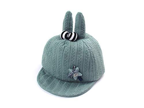 Yuchoi Sun Rabbit Ear Baby Baseball Cap Newborn Sun Protecti