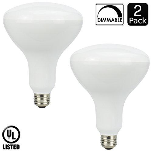 100 Watt R20 Flood Light Bulbs - 9