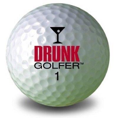 1ダース (Drunk Golfer Logo) Callaway スーパーソフトゴルフボール   B07DBC5V6K