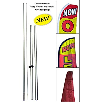 MUFFLERS Auto Car Repair Swooper Banner Feather Flutter Bow Tall Curved Top Flag