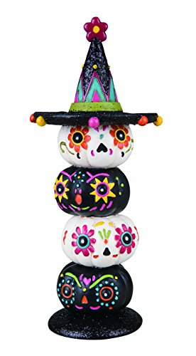 Pumpkins Stacked (Transpac Day of the Dead Stacked Pumpkins with Hat)
