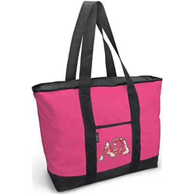durable modeling Cute Alpha Gamma Delta Tote Bag AGD Sorority Totes for  Women 1e94bd3a45