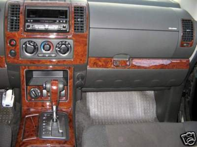 NISSAN PATHFINDER 2005 2006 2007 SE LE INTERIOR BURL WOOD DASH TRIM KIT SET