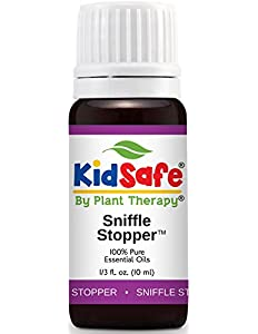 Plant Therapy KidSafe Sniffle Stopper Synergy Essential...