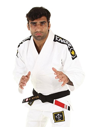 Kingz-Basic-20-BJJ-Jiu-Jitsu-Gi-with-FREE-White-Belt