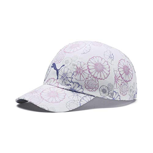 Puma Golf 2019 Girl's Daily Hat (One Size), Bright White-Floral