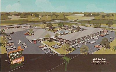 F0258 FL, Starke Holiday Inn Postcard