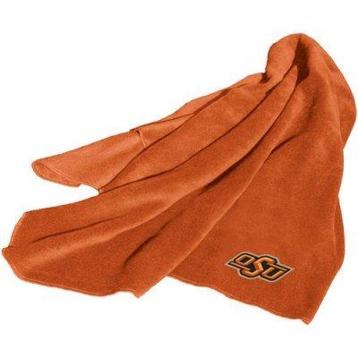 Oklahoma State Cowboys OSU NCAA Fleece Throw Blanket